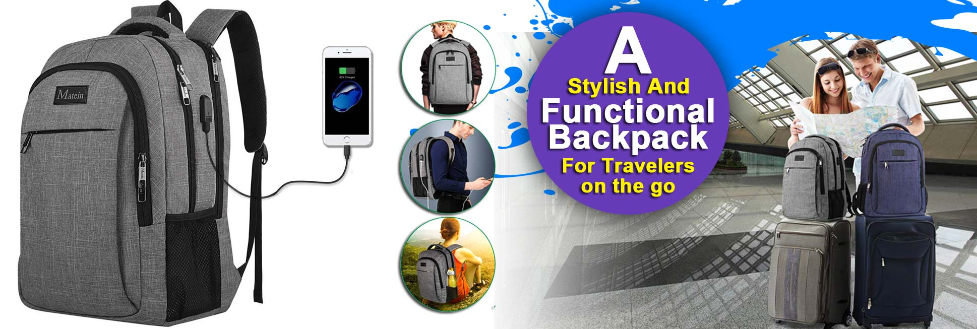 A Stylish And Functional Backpack For Travelers On The Go