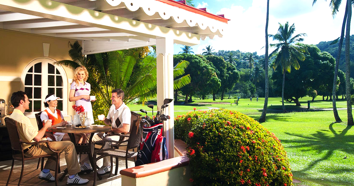 Sandals Resort Is A Heaven For Golf Lovers Visiting The Caribbean