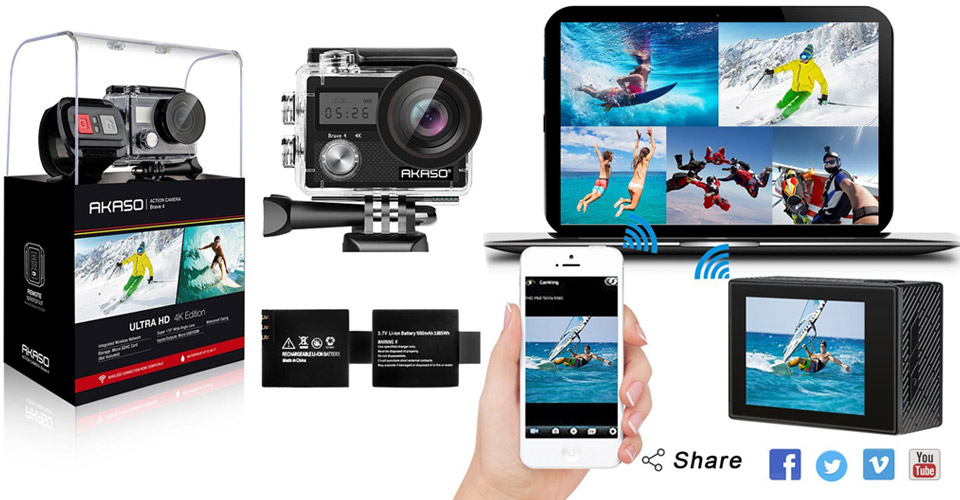 9 Affordable 4k Action Cameras For Travelers