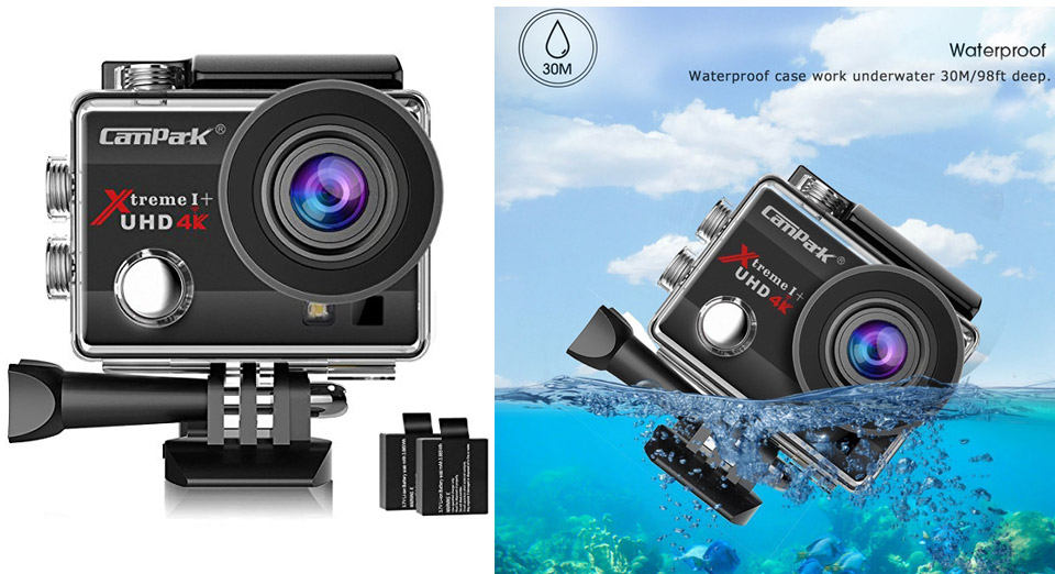 Campark ACT74 Action Camera 4K WiFi