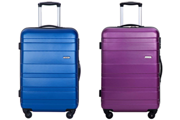 Merax Aphro 20inch Carry On Luggage Lightweight ABS Spinner Suitcase