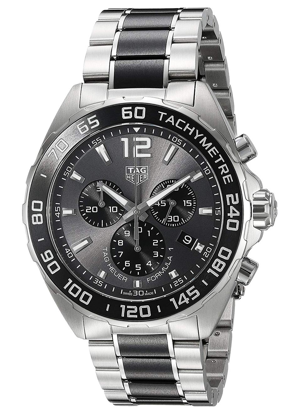 TAG Heuer Men's Formula 1 Swiss Quartz Stainless Steel Dress Watch
