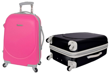 TPRC Barnet Collection Hardside Expandable Carry-On Suitecase