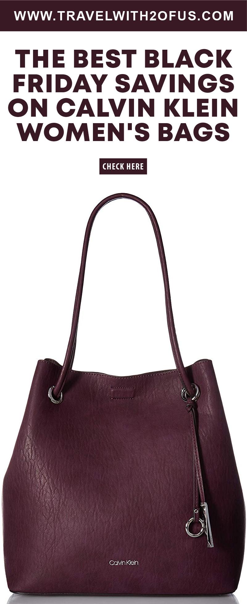The Best Black Friday Savings On Calvin Klein Women s Bags 9ab36beb68