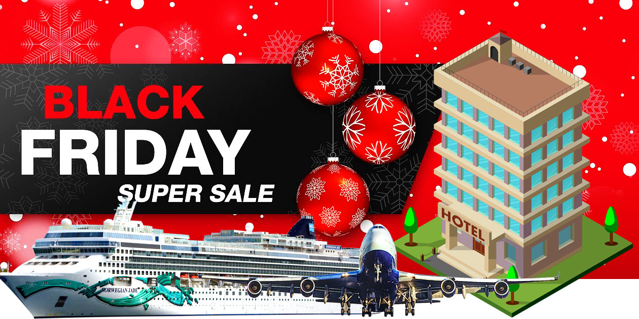 Flight Hotel Cruise Get Up To 60 Off Black Friday Travel Deals