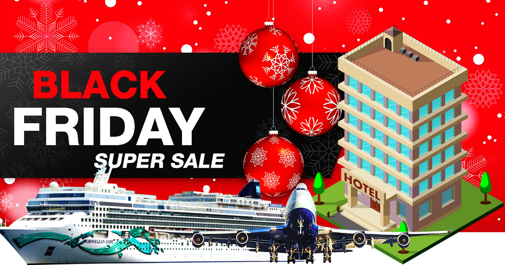 Flight Hotel Cruise - Get Up To 60% Off Black Friday Travel Deals