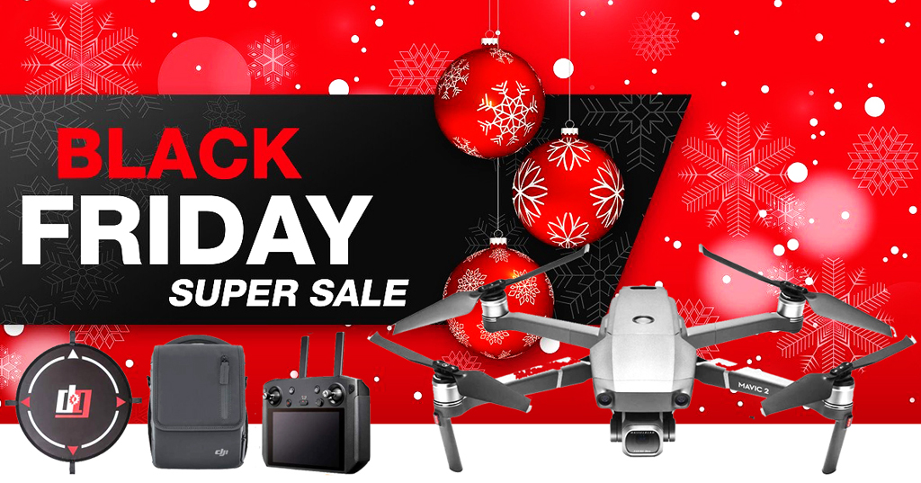 Black Friday Price - Save 20% On This DJI Mavic 2 Pro Drone Combo