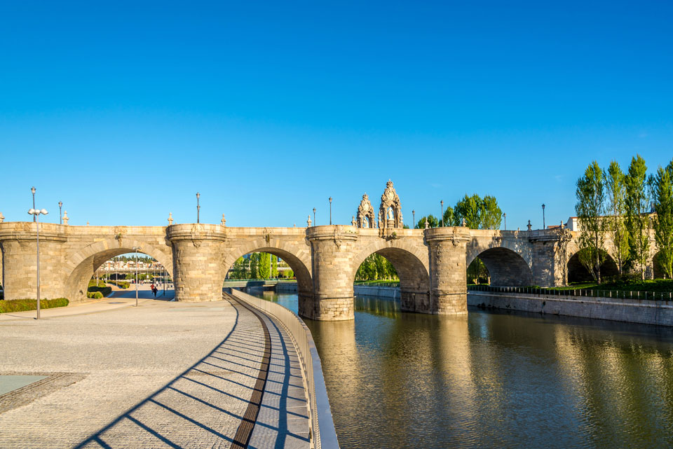 Bridge of Toledo, Madrid, Spain
