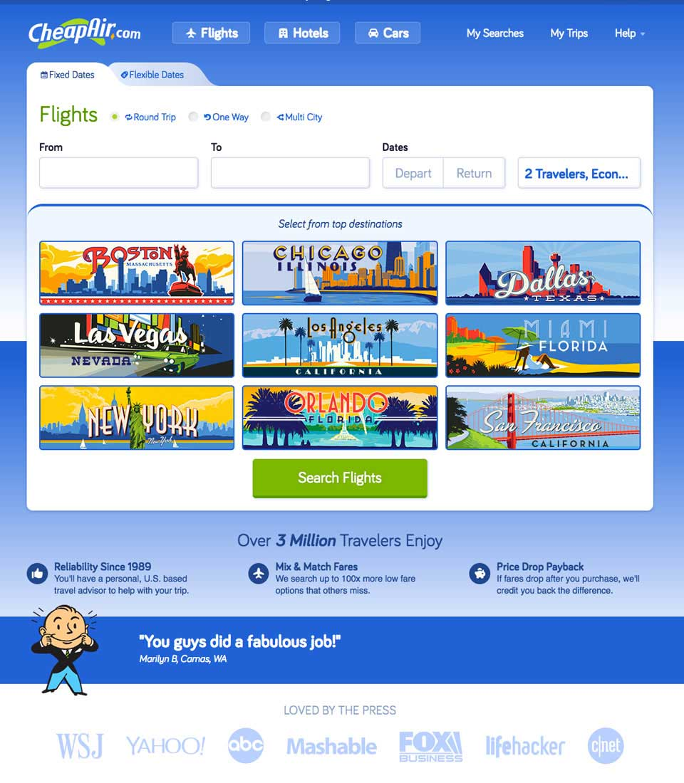 CheapAir accepts Bitcoins as payments for International flights