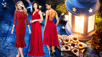 6 Red Dresses That Will Make You Look Like A Star At Christmas Parties