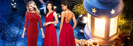 Red Christmas Dresses That Will Make You Look Like A Star