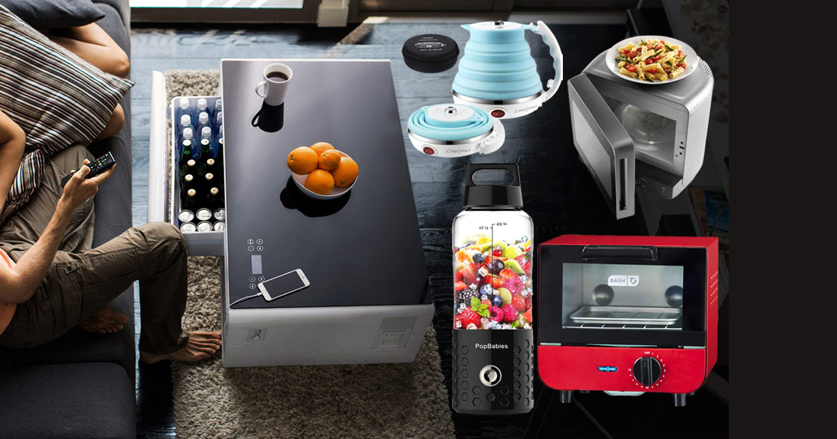 7 Compact Gadgets You Should Have If You Live In A Small Apartment