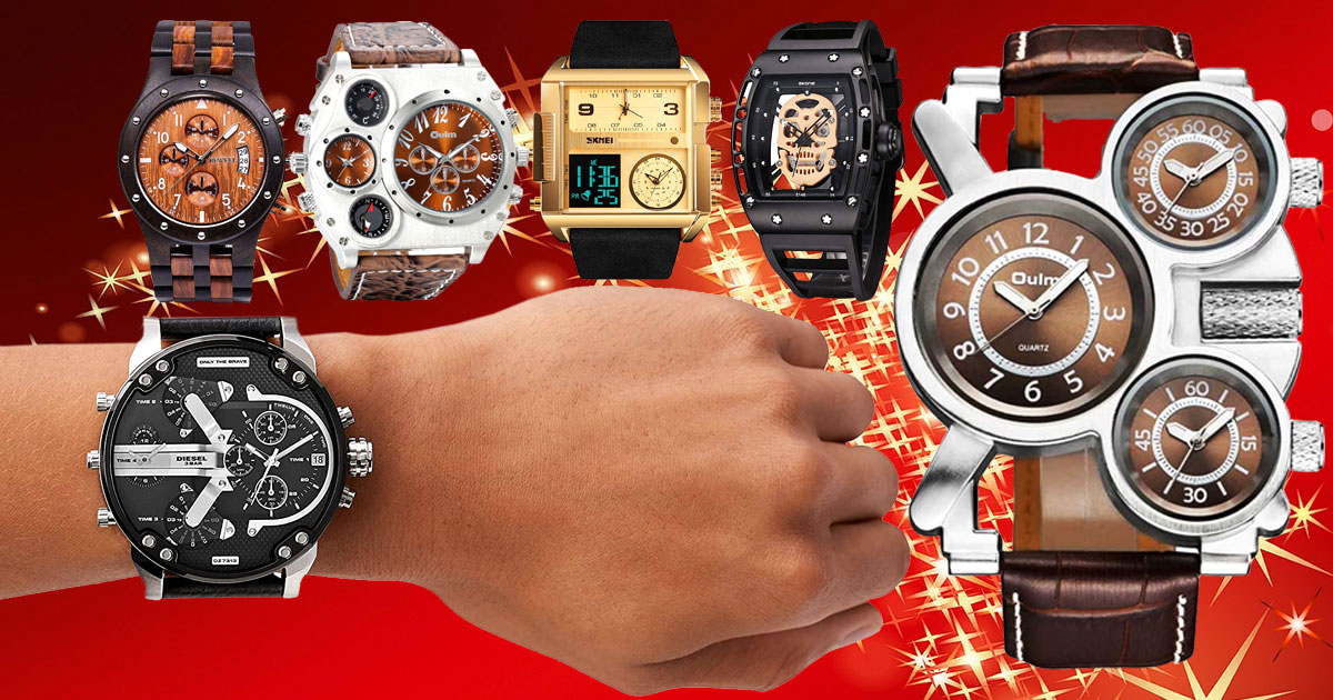 10 Cool Watches That Make Amazing Gifts For Men With Unique Style