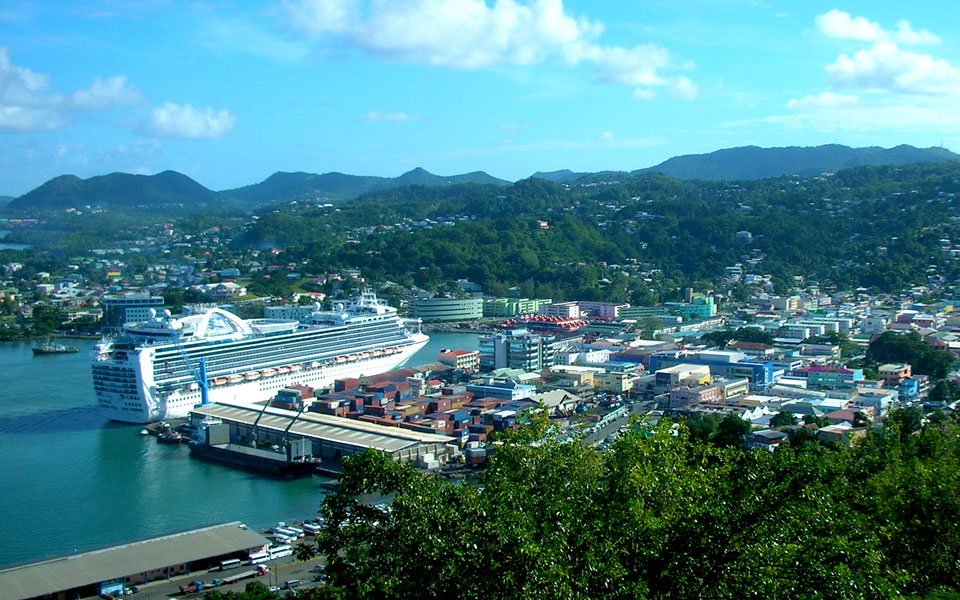Heritage Quay, St John's, Antigua cruise port