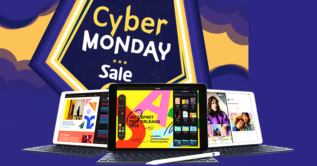Cyber Monday Price - 23% Off On Apple iPad 10.2-Inch With Retina Display