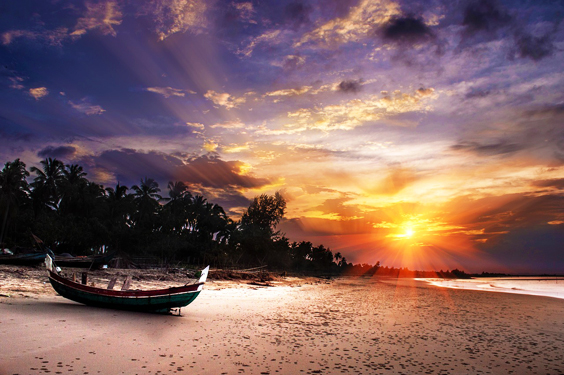 10 Of The Most Amazing Beach Sunsets
