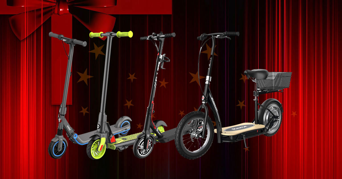 8 Cool Electric Scooters That Make Great Gifts For Adults And Kids
