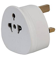 Eurosonic Travel Adaptor Plug: UK version