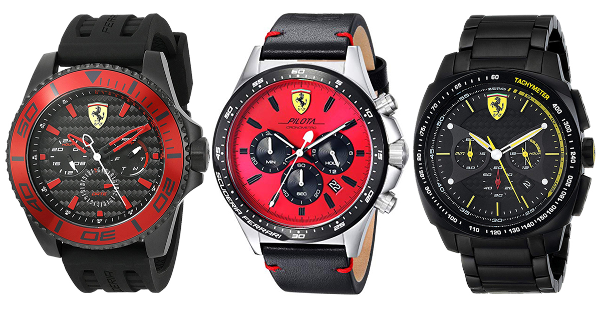 These Ferrari Watches Make Great Gifts For Men