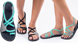 Really Cool Flip Flops And Sandals For Spring Break Travel