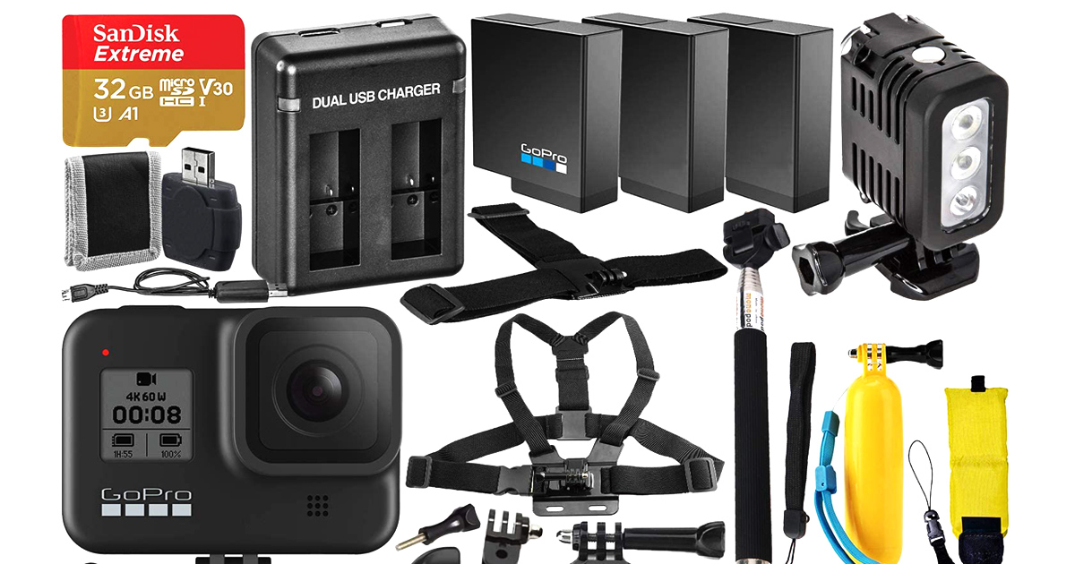GoPro Hero 8 Action Camera Bundle That Will Save You Money
