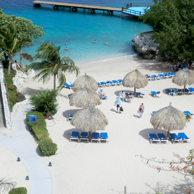 Curacao Hilton beachfront