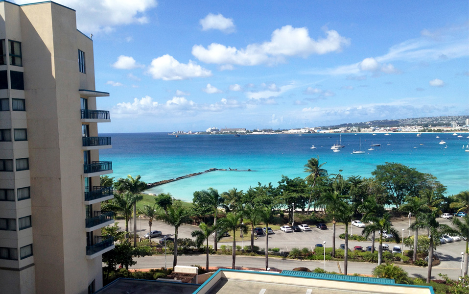 Hilton Barbados bay view