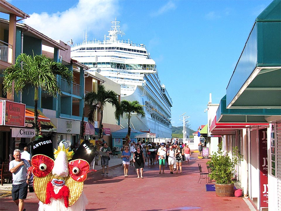 Cruise ship port St. John's, Antigua and Barbuda