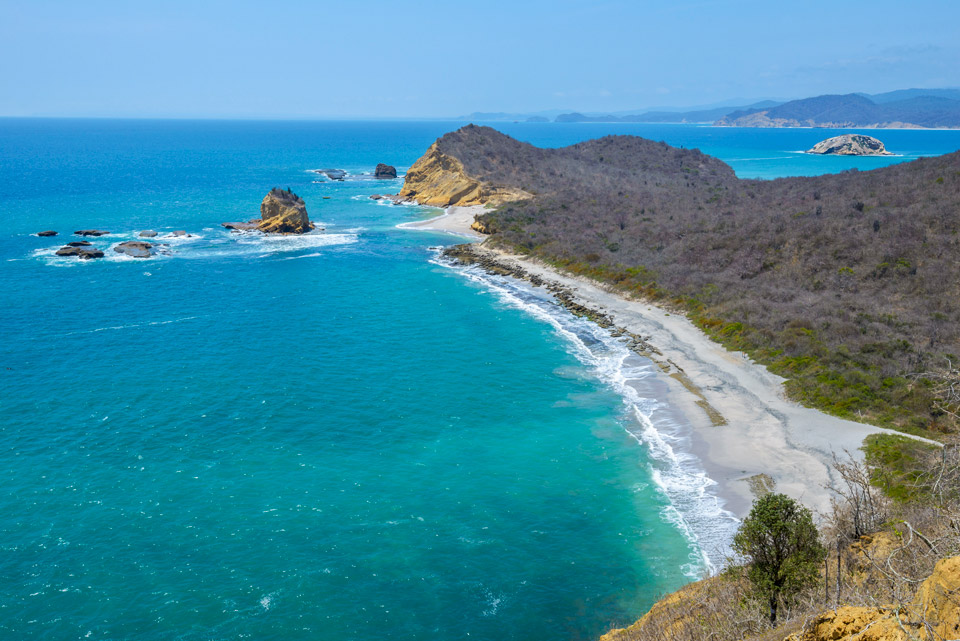 Los Frailes beach, Machalilla National Park