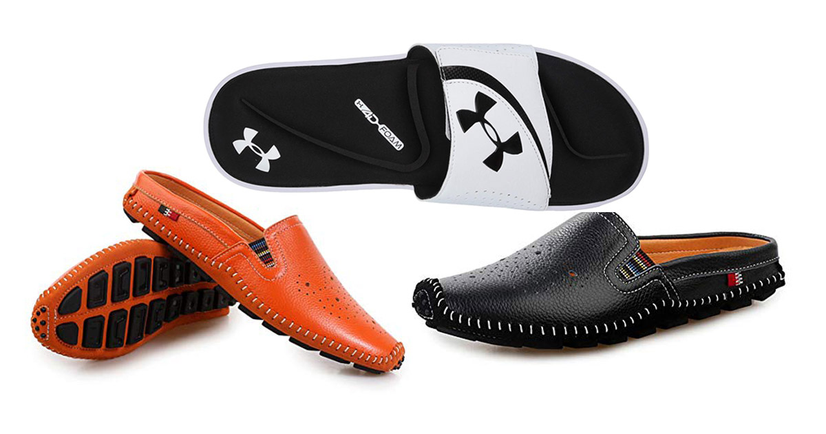 Stylish And Comfortable Men's Travel Slippers