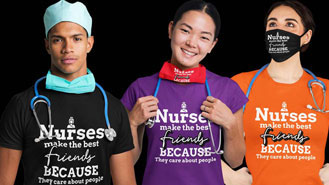 Nurses Make The Best Friends Because They Care About People
