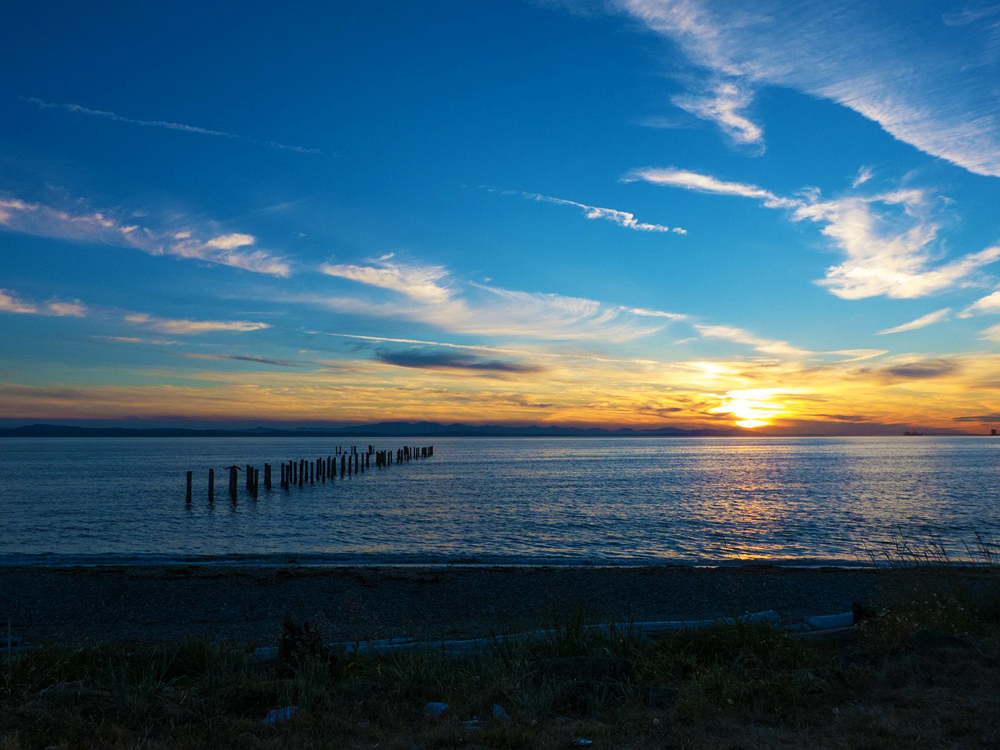 Point Roberts. Washington. US
