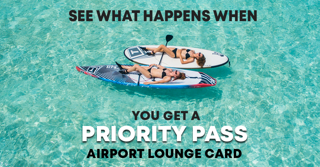 See What Happens When You Get A Priority Pass Airport Lounge Card