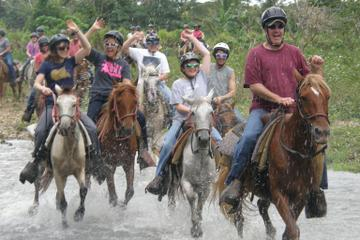 Punta Cana River Horseback Riding and Zipline Tour - a day of adrenaline pumping fun!