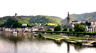 Reichsburg Cochem Vineyards