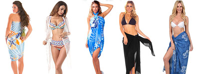 Chic Beach Sarong And Cover-ups For Spring Break Travel