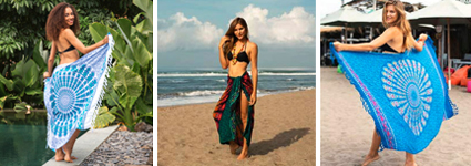 Chilax At The Beach With These Cute Sarong Wraps