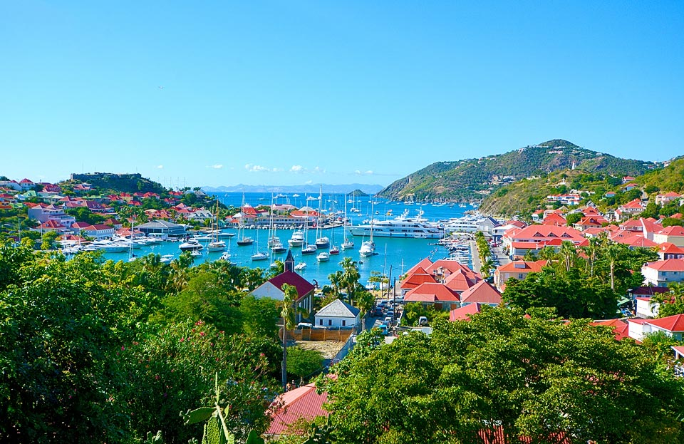 Saint Barthlemy also know as St Barts and St Barths
