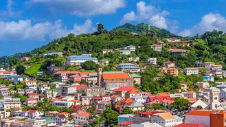 ST George's - The capital of the Spice Island, Grenada