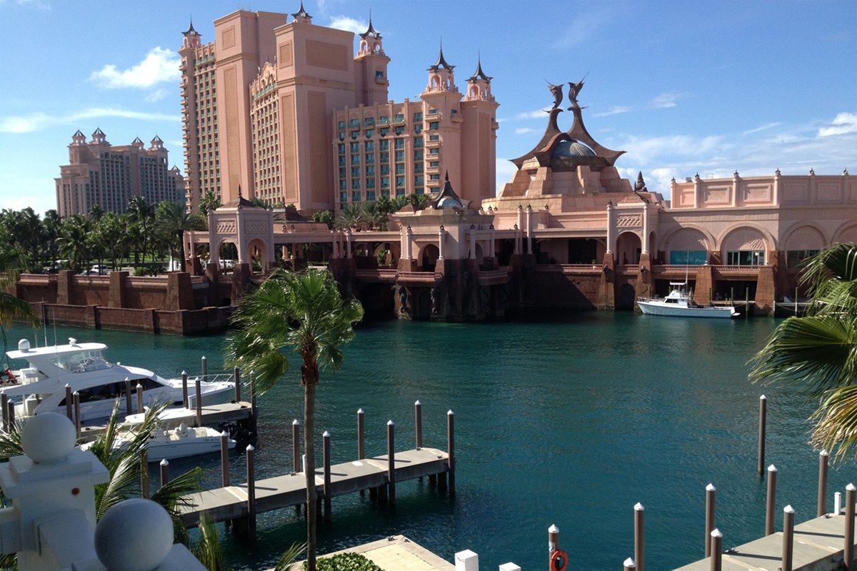 Our stay at Atlantis Resort, The Bahamas.