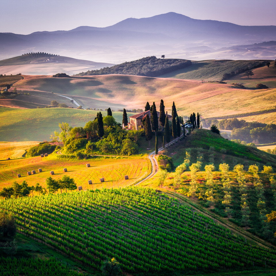 Breathtaking Photos Of Tuscany And How To Get There - Tranquil photos capture the beauty of tuscanys countryside