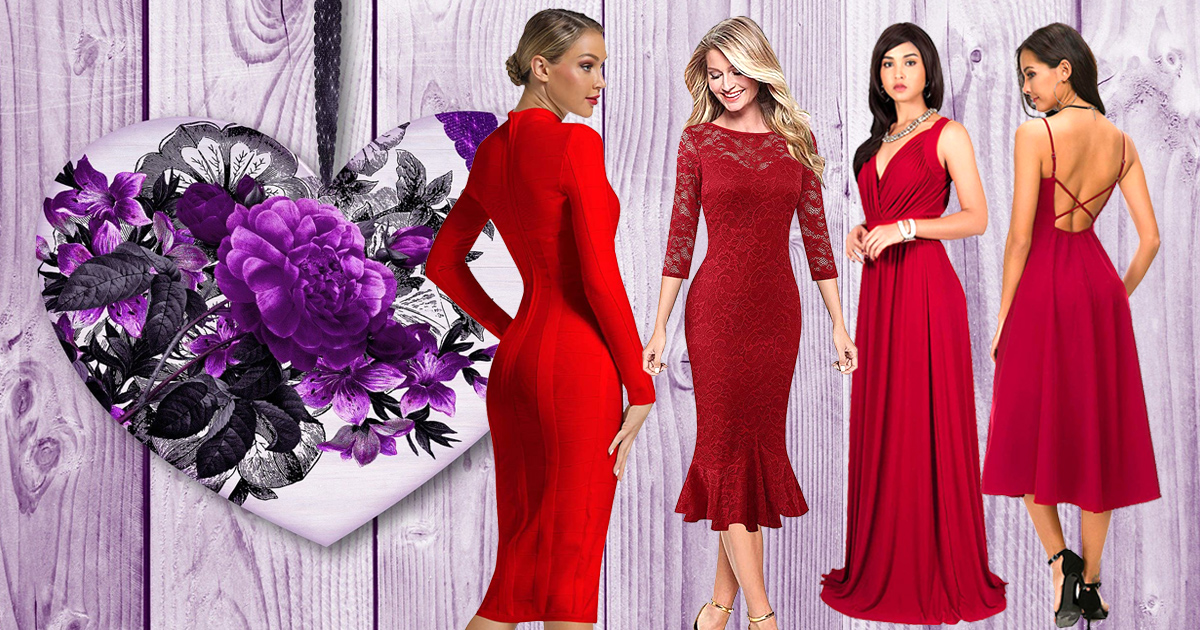 Sexy And Cute Valentine's Day Date Night Dresses