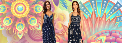 These maxi dresses are so cute you'll wear them ON every trip