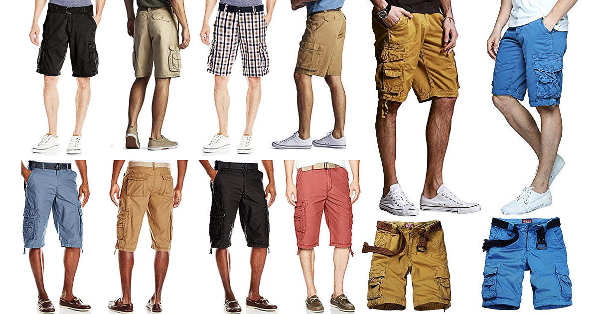 Stylish And Practical Cargo Shorts For Male Travelers