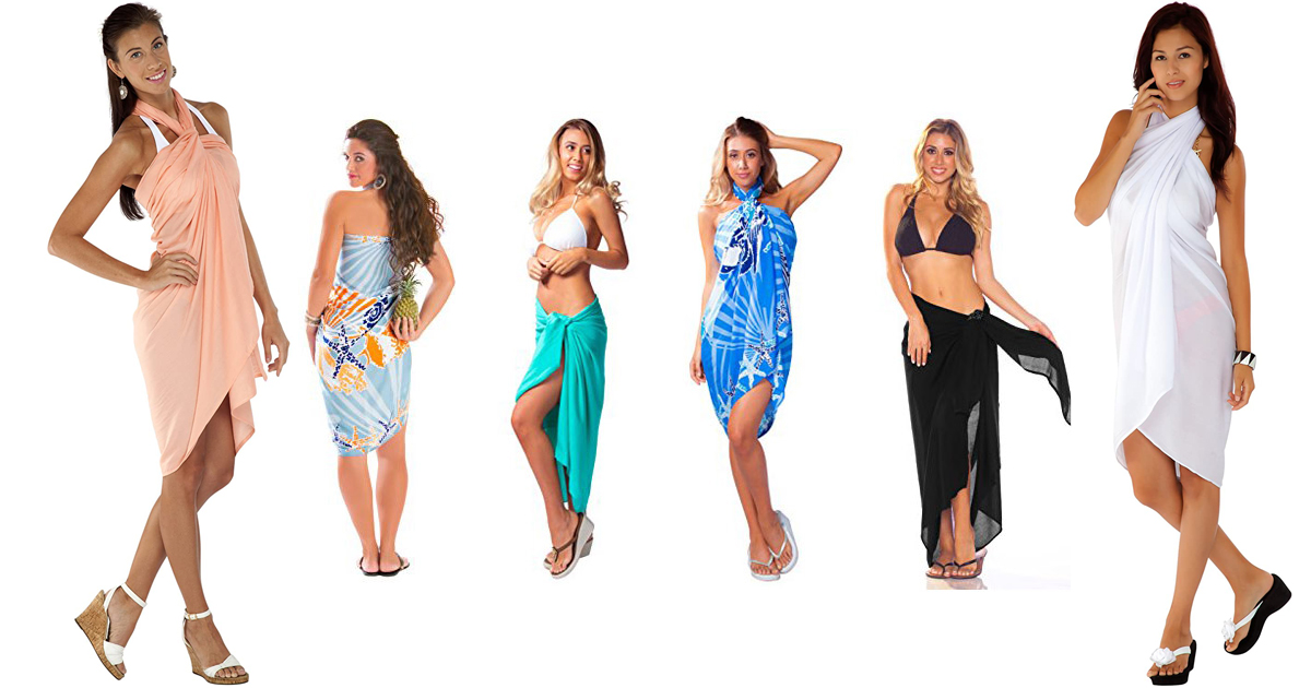 Chic Beach Sarong And Cover-ups