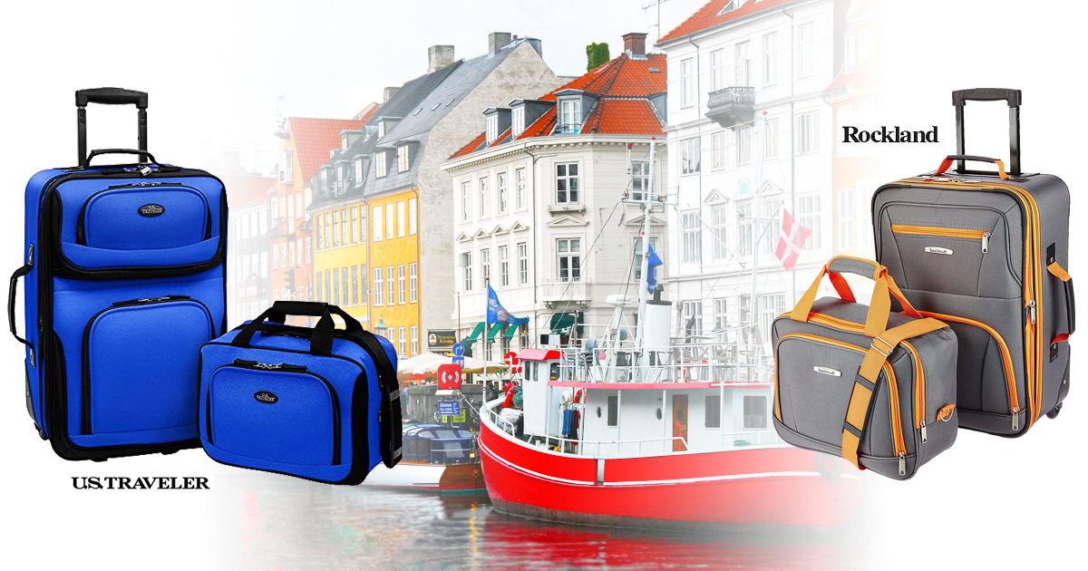 Which 2 Piece Luggage Set Is Better Rockland Or US Traveler?